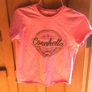 Coachella retro t shirt